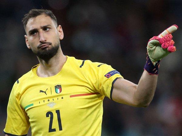 Kiper timnas Italia, Gianluigi Donnarumma.