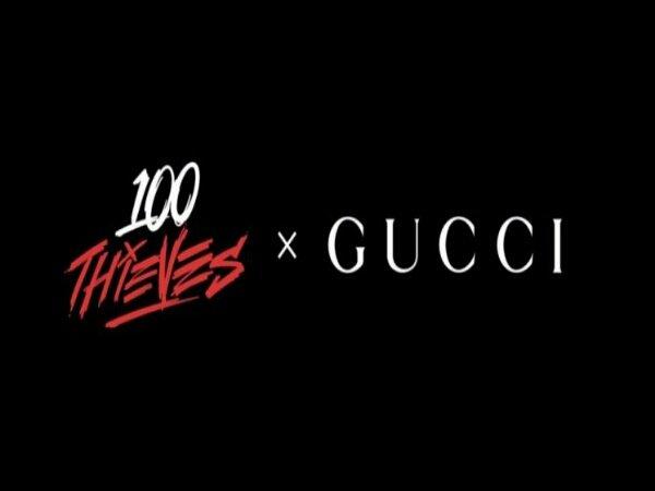 100 Thieves Akan Rilis Item Kolaborasi dengan Gucci Pada 19 Juli 2021