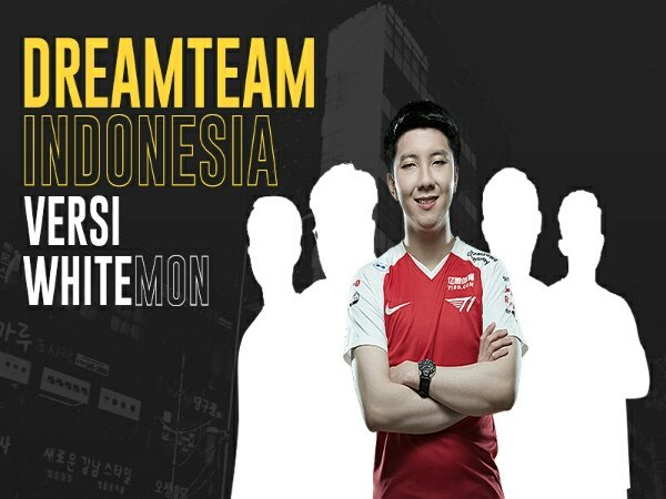 Dream Team Dota 2 Indonesia versi Whitemon: Dari IYD hingga Xepher