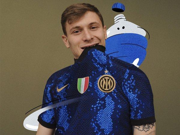 Jersey anyar Inter Milan.