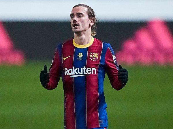 Penyerang Barcelona, Antoine Griezmann.