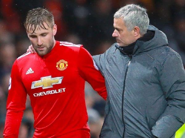 Jose Mourinho akui sudah terlalu keras pada Luke Shaw saat di MU