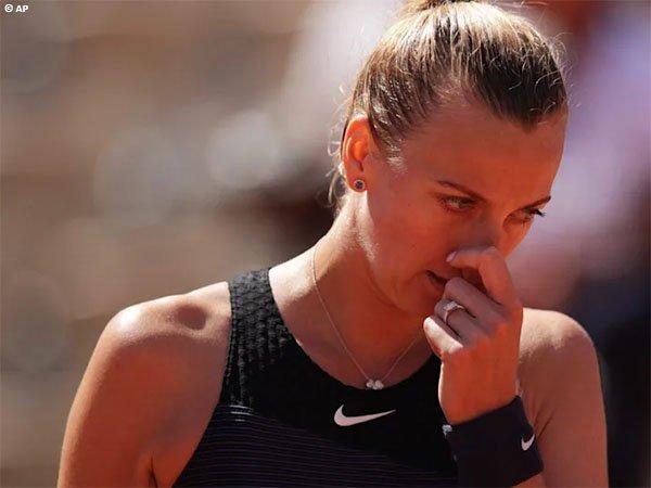 Petra Kvitova telan kekalahan pahit di babak pertama Prague Open 2021