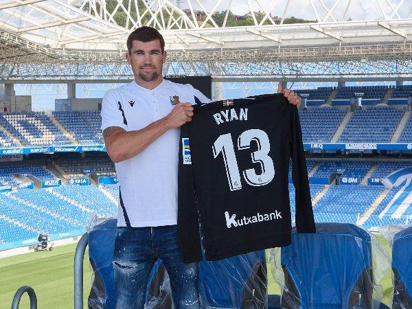 Mathew Ryan menandatangani kontrak dua tahun dengan Real Sociedad