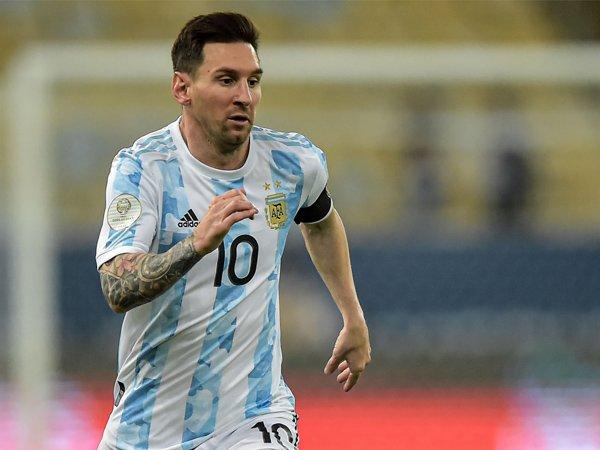 Bintang timnas Argentina, Lionel Messi.