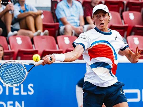 Emil Ruusuvuori lolos ke babak kedua Swedish Open 2021