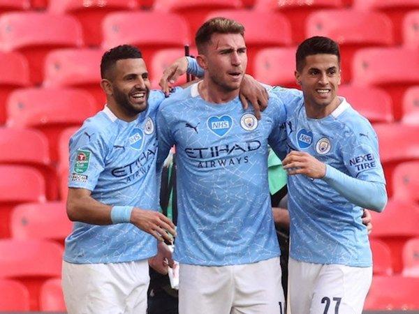 Manchester City Juara Piala Carabao 2020-21 (Sumber: Reuters)