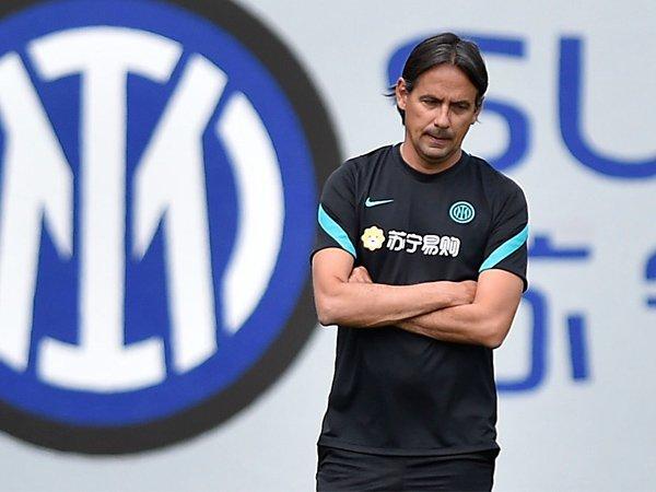 Pelatih Inter Milan, Simone Inzaghi.