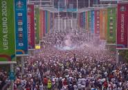 UEFA Denda FA Akibat Tingkah Fans Inggris di Final Piala Eropa 2020