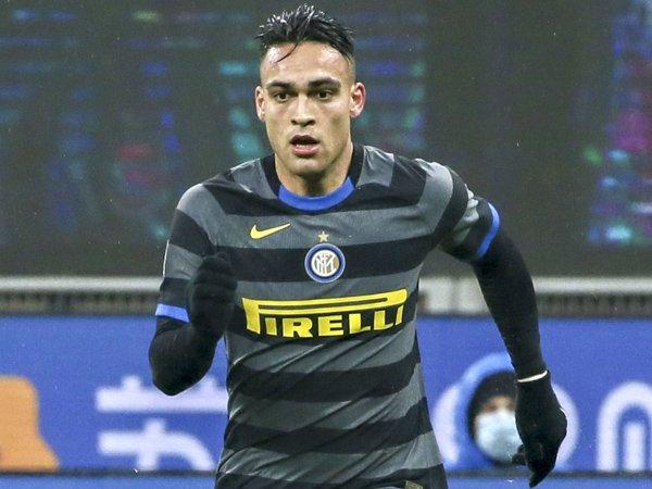 Penyerang Inter Milan, Lautaro Martinez.