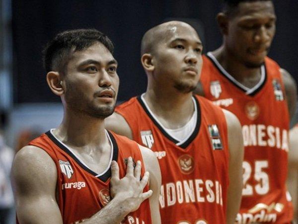 Widyanta Putra Teja saat memperkuat Timnas Basket Indonesia. (Images: IBL)