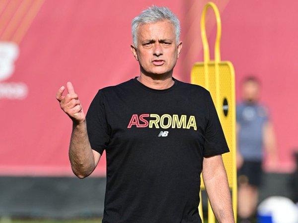 Manajer AS Roma, Jose Mourinho.