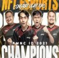 PMNC 2021: NFT Esports Juara, EVOS Reborn Gagal Raih Tiket PMPL ID Season 4