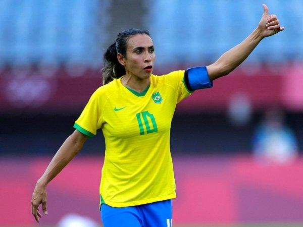 Marta menciptakan rekor di Olimpiade.