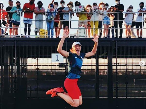 Sebelum berlaga di Olimpiade Tokyo, Iga Swiatek dapatkan dukungan ini