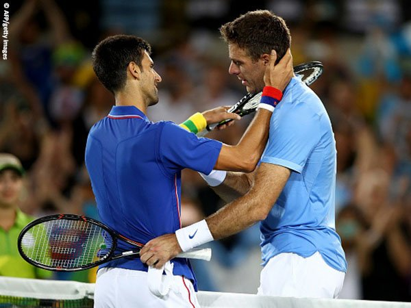 Jelang Olimpiade Tokyo, Juan Martin Del Potro lontarkan candaan kepada Novak Djokovic