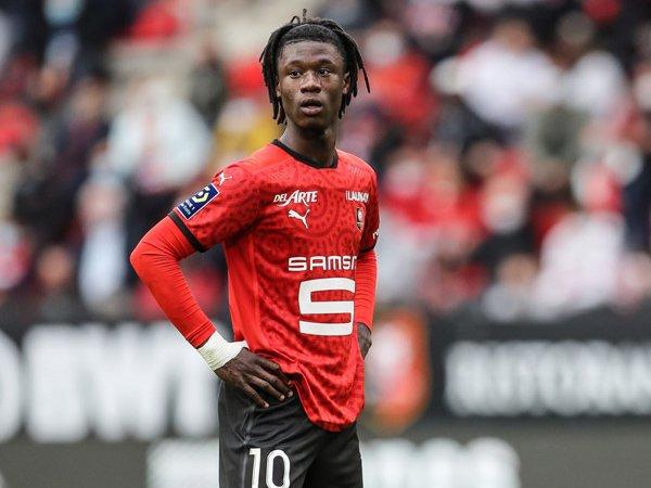 Gelandang Rennes, Eduardo Camavinga.