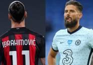 Pioli Bakal Susun Formasi Agar Ibrahimovic dan Giroud Bermain Bersama?