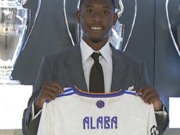 Bek anyar Real Madrid, David Alaba.