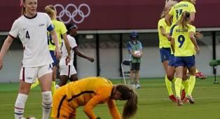 Rekor Tak Terkalahkan Timnas Putri AS Terhenti di Laga Pembuka Olimpiade