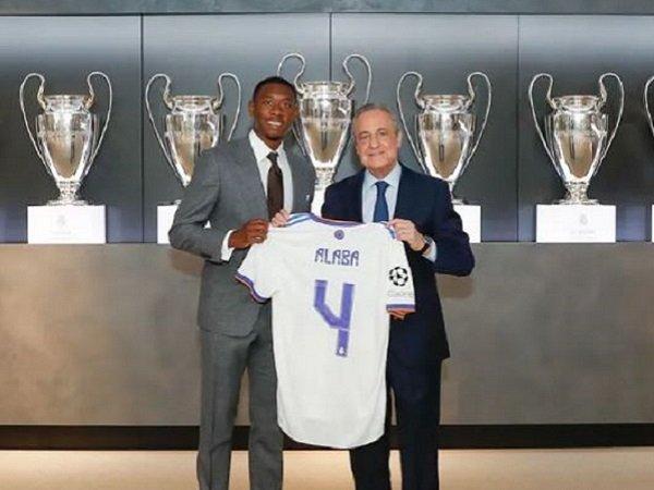 Pemain belakang anyar Real Madrid, David Alaba.