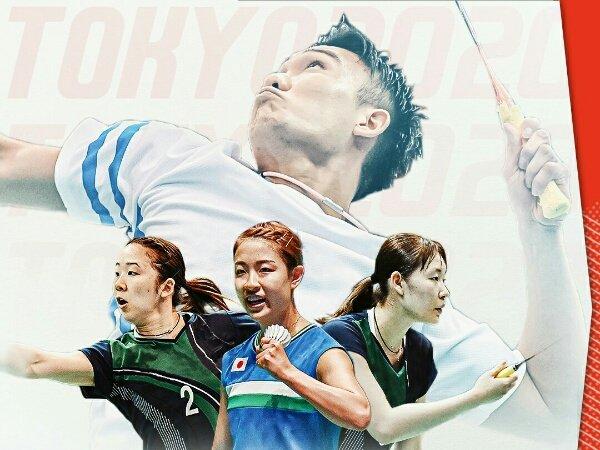 Berikut Skuad Bulu Tangkis Jepang di Olimpiade Tokyo 2020