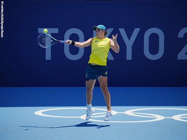 Ashleigh Barty tantang petenis ini di babak pembuka Olimpiade Tokyo