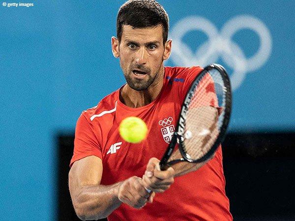 Novak Djokovic berpeluang hadapi Andrey Rublev dan Alexander Zverev di Olimpiade Tokyo