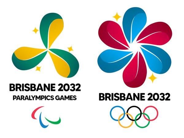 Logo Olimpiade dan Paralimpiade Brisbane 2032