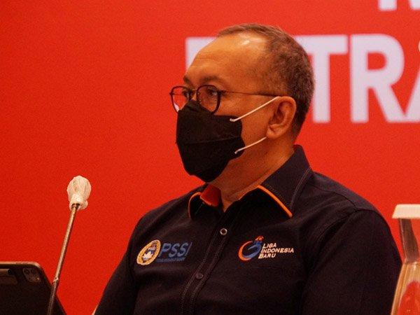 Direktur Utama PT LIB, Akhmad Hadian Lukita angkat bicara terkait Liga 1