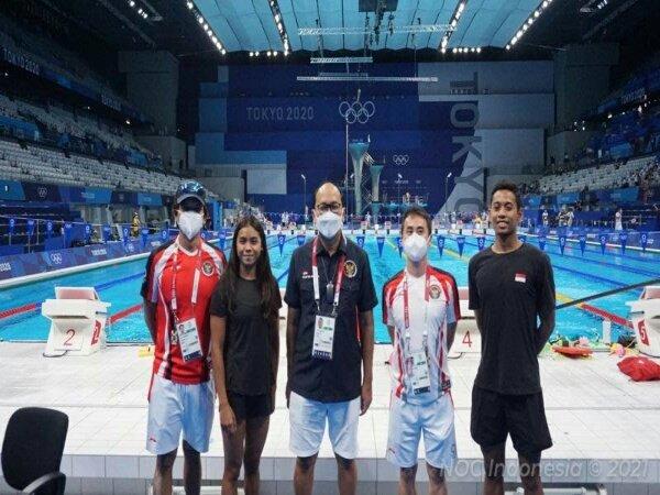 Olimpiade Tokyo 2020: 2 Perenang Indonesia Ditargetkan Pertajam Rekornas