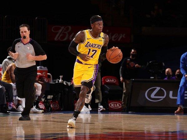 Los Angeles Lakers kemungkinan besar bakal pisah jalan dengan Dennis Schroder.