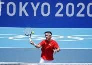 Hasil Olimpiade: Kei Nishikori Buyarkan Mimpi Andrey Rublev