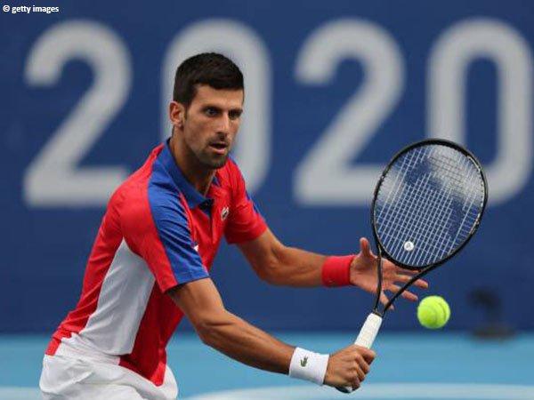 Novak Djokovic meluncur ke babak ketiga Olimpiade Tokyo