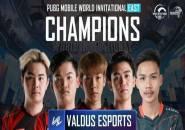 PMWI East: Valdus Esports Kampiun, Bigetron Red Aliens Finis Kelima