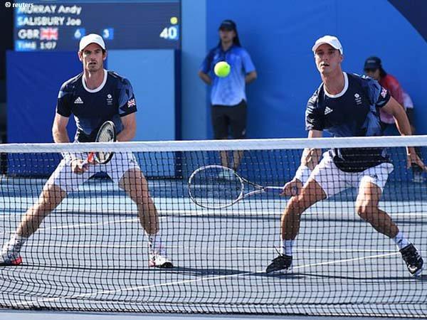 Andy Murray dan Joe Salisbury bukukan satu tiket perempatfinal Olimpiade Tokyo