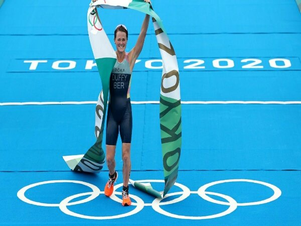 Tokyo 2020: Flora Duffy Beri Medali Emas Olimpiade Pertama bagi Bermuda