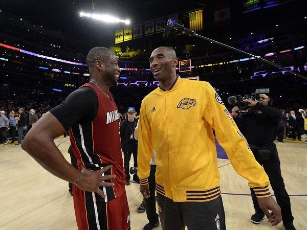 Kobe Bryant beri banyak pelajaran berharga pada Dwyane Wade.