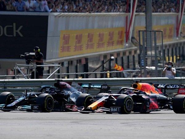GP Inggris, Max Verstappen, Lewis Hamilton