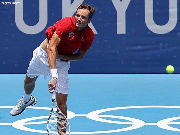 Langkah Daniil Medvedev ke perempatfinal Olimpiade Tokyo tak terbendung