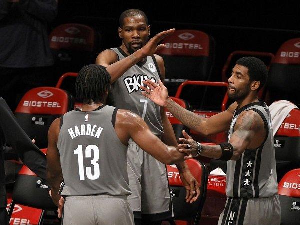 Kevin Durant nyaman bertandem dengan Kyrie Irving dan James Harden.
