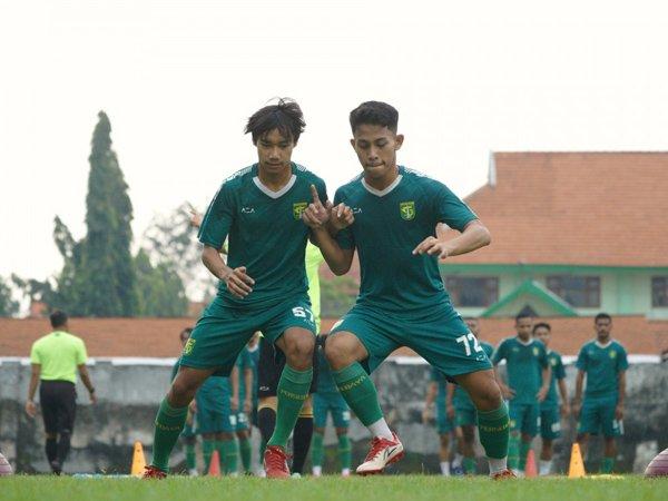 Latihan rutin Persebaya Surabaya
