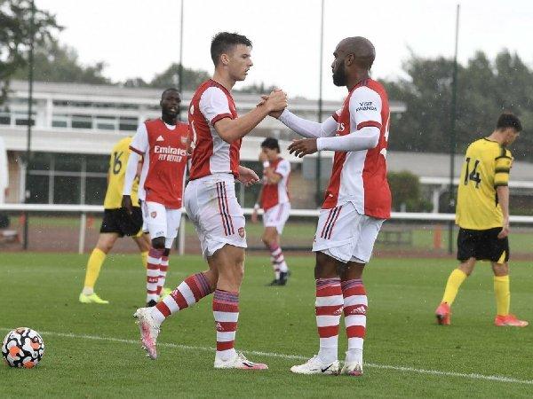 Arsenal mengalahkan Watford 4-1 di London Colney