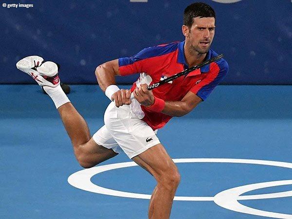 Novak Djokovic meluncur ke semifinal Olimpiade Tokyo tanpa drama