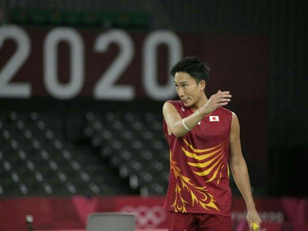 Kento Momota Kandas di Penyisihan Grup Olimpiade Tokyo 2020