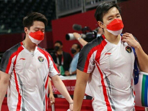 Kevin dan Marcus Kandas di Perempat Final Olimpiade Tokyo 2020