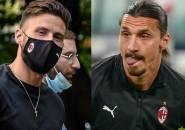 Pioli Siap Pasang Ibrahimovic dan Giroud Bareng, Milan Pakai Formasi Baru?
