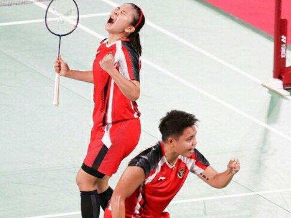 Tundukan China, Greysia dan Apriyani Tembus Semifinal Olimpiade Tokyo 2020