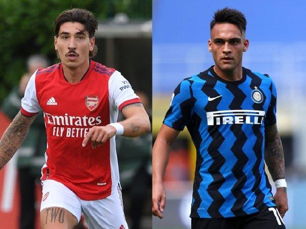 Arsenal merencanakan tukar tambah Hector Bellerin dan Lautaro Martinez
