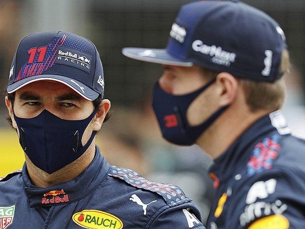 Red Bull, Sergio Perez, Max Verstappen